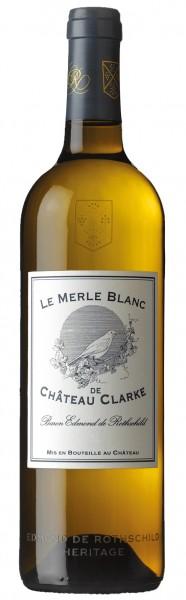 Château Clarke Le Merle Blanc de Château Clarke Bordeaux Blanc