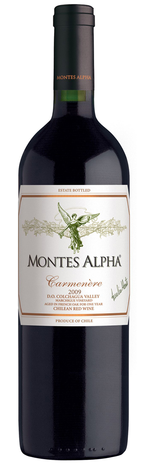 Montes Alpha Carmenere 2014 Montes Chile Valle Central