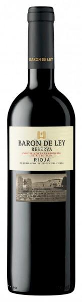 2013 Rioja Reserva Baron de Ley in der 3er Holzkiste