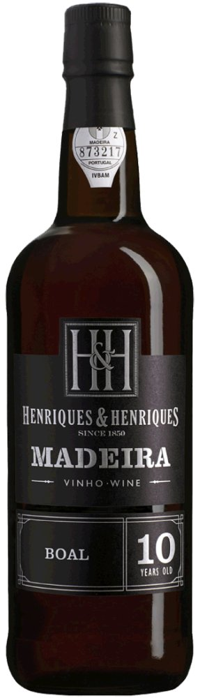 BUAL - Aged 10 Years 20% Vol Finest Medium Rich Madeira Henriques