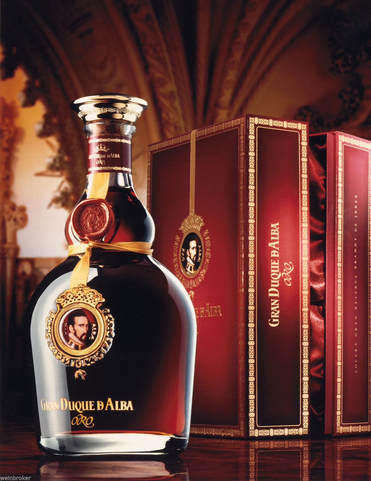 Gran Duque de Alba Oro Brandy de Jerez Solera Gran Reserva Especial