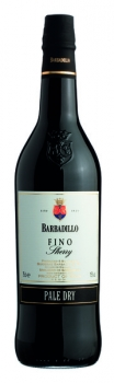 Sherry Fino Pale Dry 15 % vol. Bodegas Barbadillo