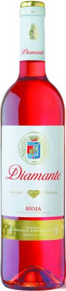 Franco-Espanolas Diamante Semi-Dulce Rosado