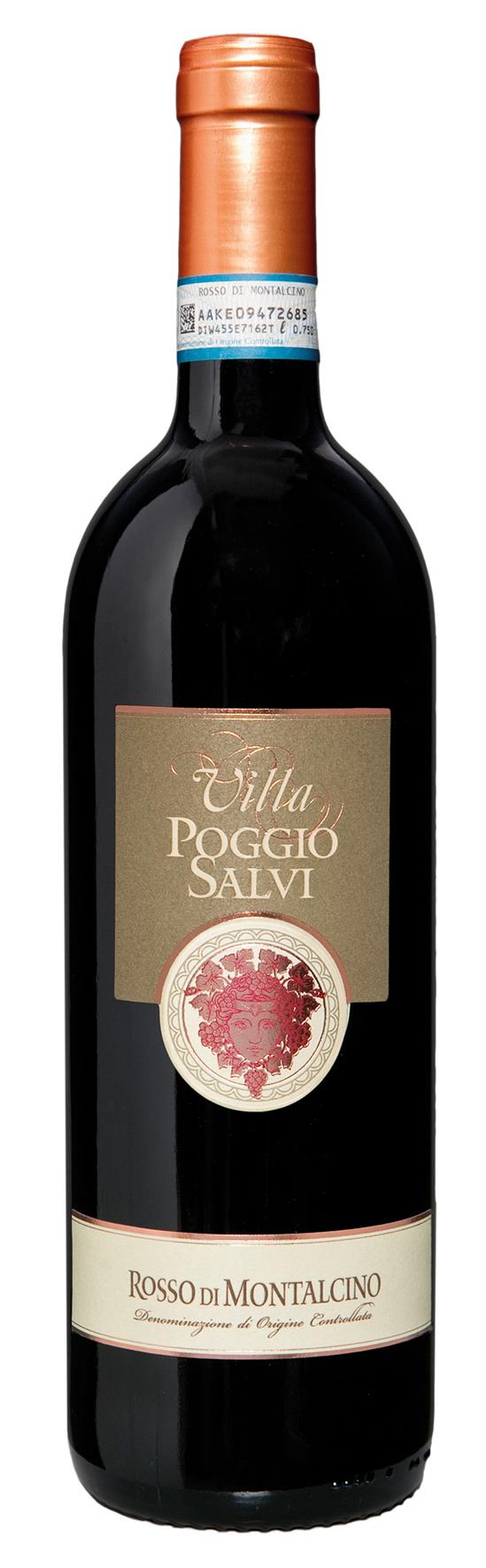 Rosso di Montalcino DOC - Villa Poggio Salvi 2012