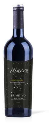 2015 Primitivo Salento Apulia I.G.T. Itynera Itinera