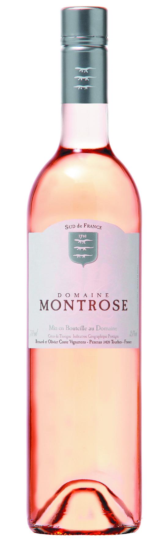 Domaine Montrose Rose Côtes de Thongue IGP 2014