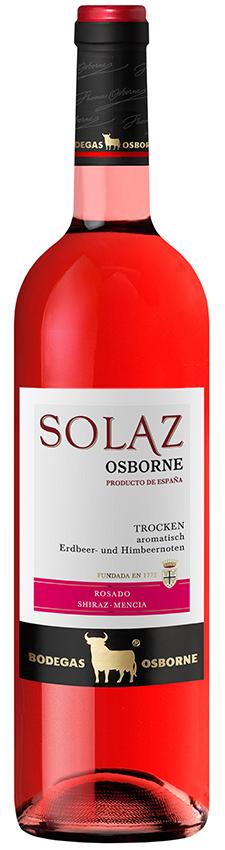 Osborne Solaz Rosado 2015 Vino de la Tierra de Castilla