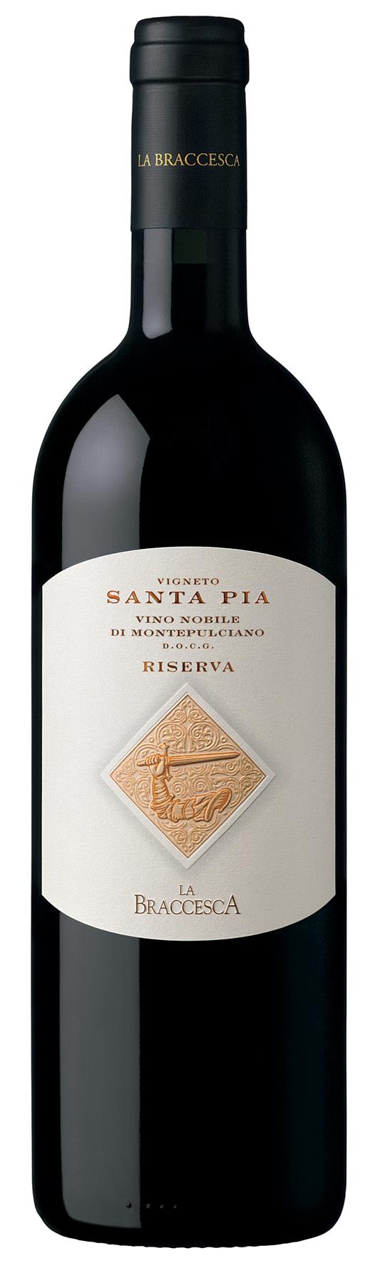 2013 Santa Pia Vino Nobile di Montepulciano DOCG Riserva Braccesca
