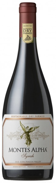 Montes Alpha Syrah Valle Central Chile