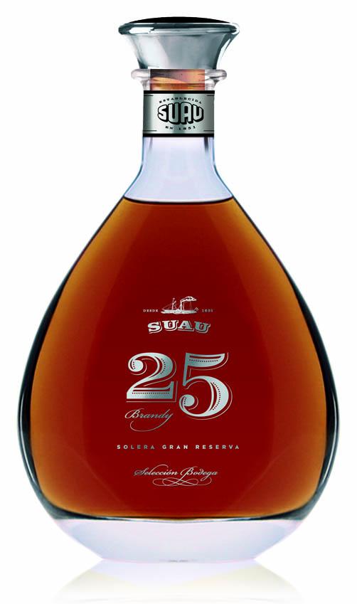 Brandy Suau Etiquete Negra 25 Jahre 37 Vol.%
