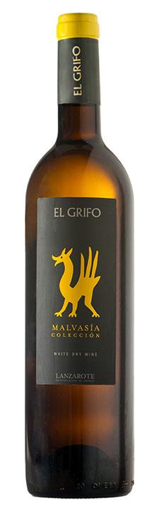 El Grifo Malvasia Seco Blanco Coleccion  Lanzarote D.O. 2015er