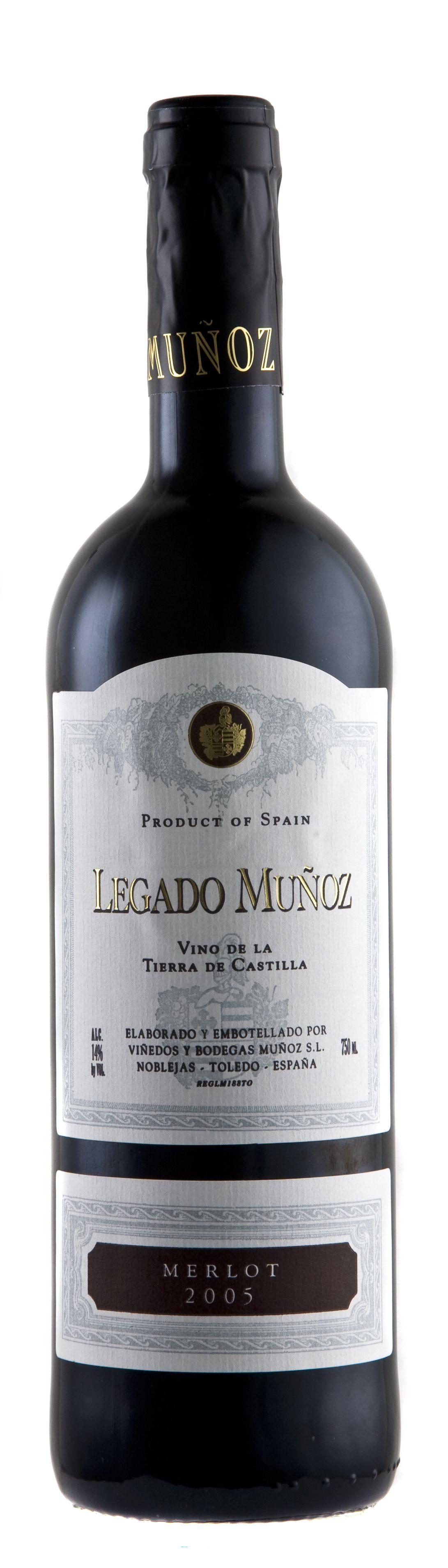 2014 Legado Munoz Merlot Rotwein Finca Munoz Vino de Tierra de Castilla