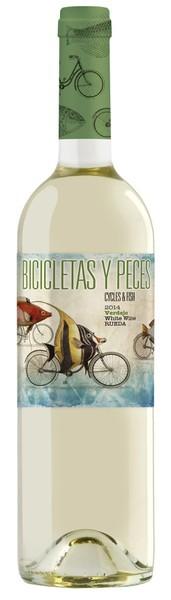 Bicicletas y Peces Verdejo Rueda DO