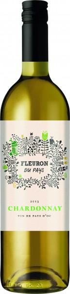 Les Vignerons de la Vicomte Fleuron Chardonnay I.G.P. Pays d'Oc Liter
