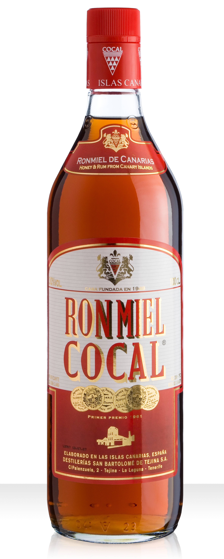 COCAL Ron con Miel Honiglikör Gran Canaria 1 Liter Flasche