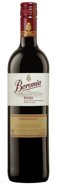 2014 Beronia Tempranillo Joven Bodegas Beronia DOCa Rioja