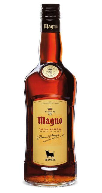 Brandy Osborne Magno Solera Reserva Spanien 36 Vol % 0,7 l Flasche
