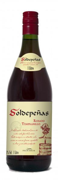 Félix Solís Castillo De Soldepeñas Tempranillo Rosado