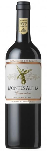 Montes Alpha Carmenere Montes Chile Valle Central