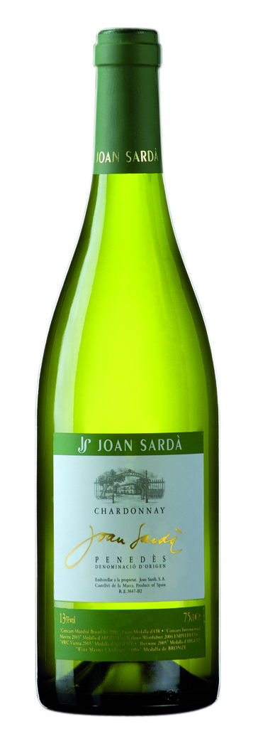 2015 Chardonnay DO Penedes Joan Sarda