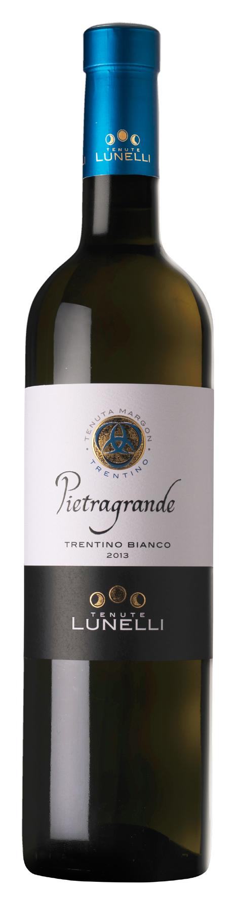 Pietragrande Trentino Bianco DOC 2015 AZIENDA LUNELLI