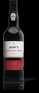 DOWS FINE RUBY PORT DOWS PORT