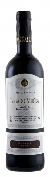 2015 Legado Munoz Merlot Rotwein Finca Munoz Vino de Tierra de Castilla