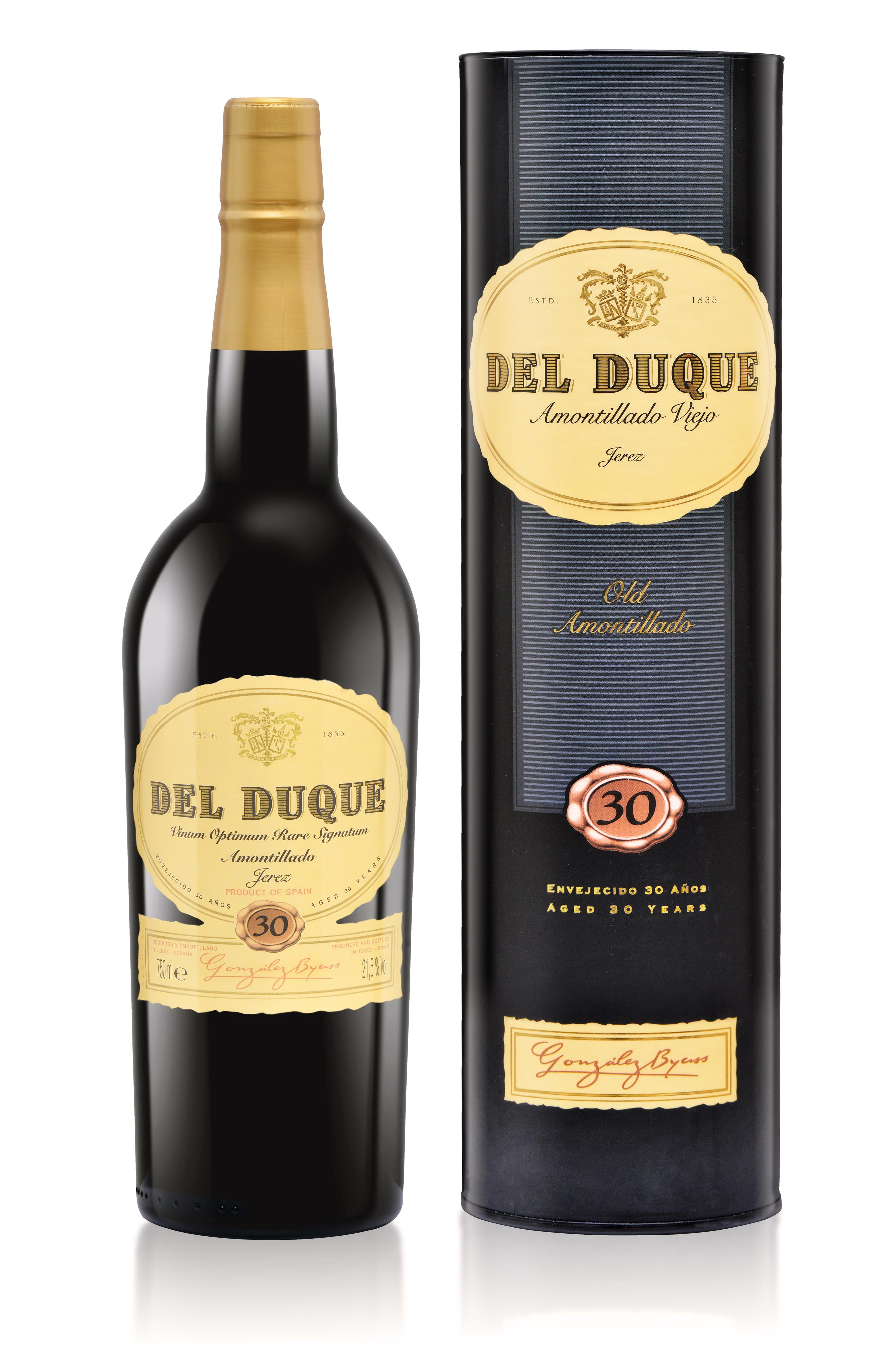 Del Duque Amontillado  GONZALEZ BYASS halbe Flasche