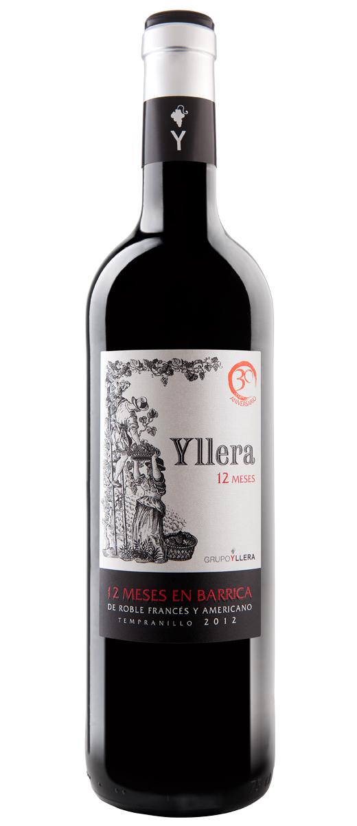 Yllera 12 Meses Vinos de la Tierra de Castilla y León 2012