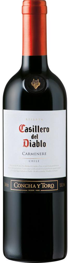 Carmenere Concha y Toro Casillero del Diablo 2015