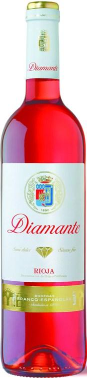 2015 Diamante Rosado Francos Espanolas halbtrocken Rioja