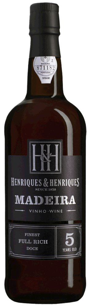 Finest Full Rich - Aged 5 Years 19% Vol Madeira Henriques