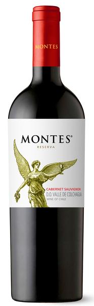 2015 Montes Reserva Cabernet Sauvignon