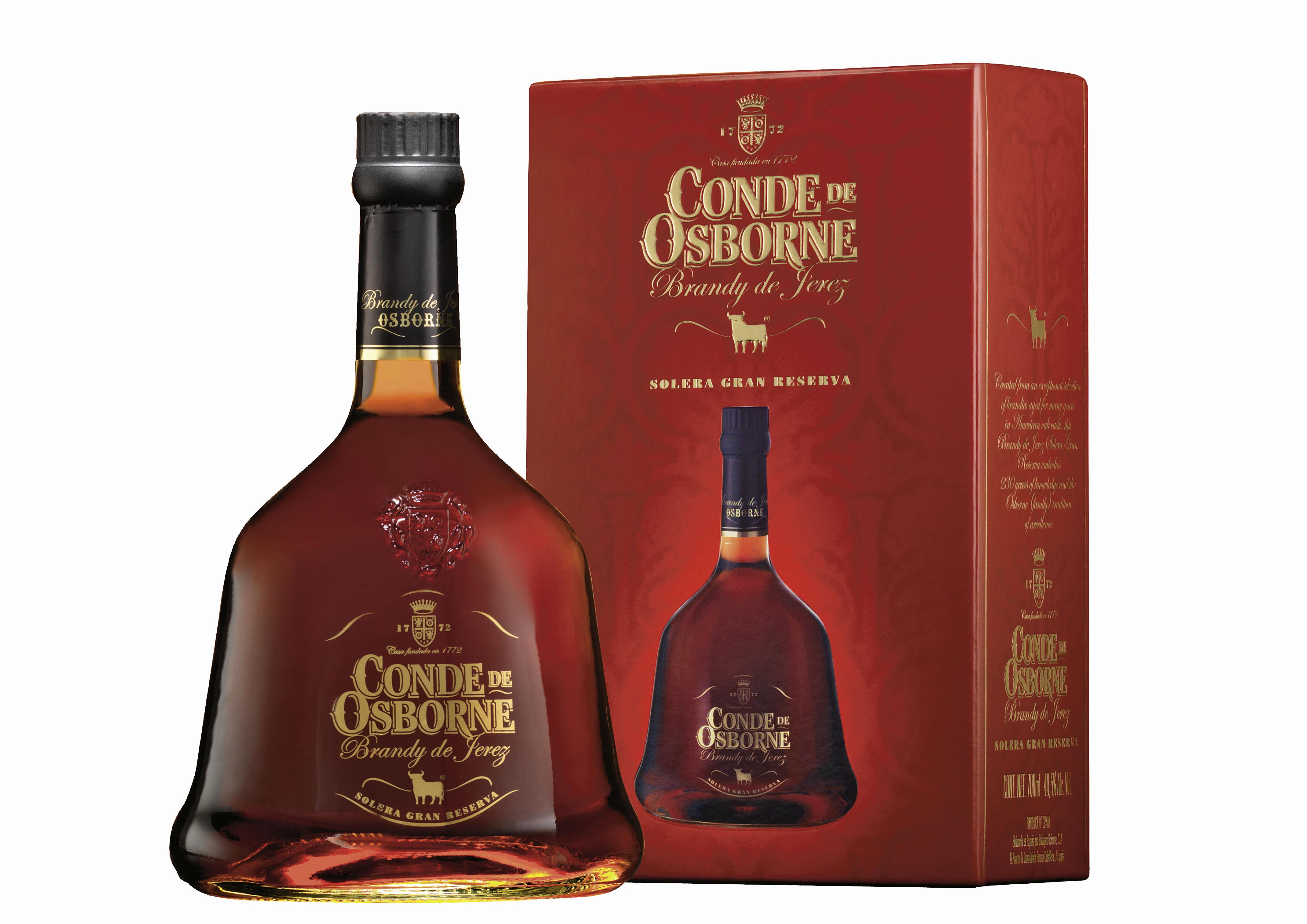 Conde de Osborne Cristal 40,5% vol in edler Geschenkverpackung