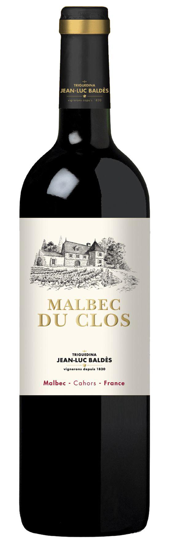Malbec du Clos JEAN-LUC BALDÈS CAHORS 2012