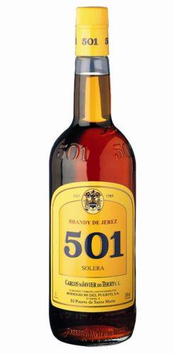 501 Orig. Spirituosen Spezialität de Jerez 30 % Vol. Literflasche