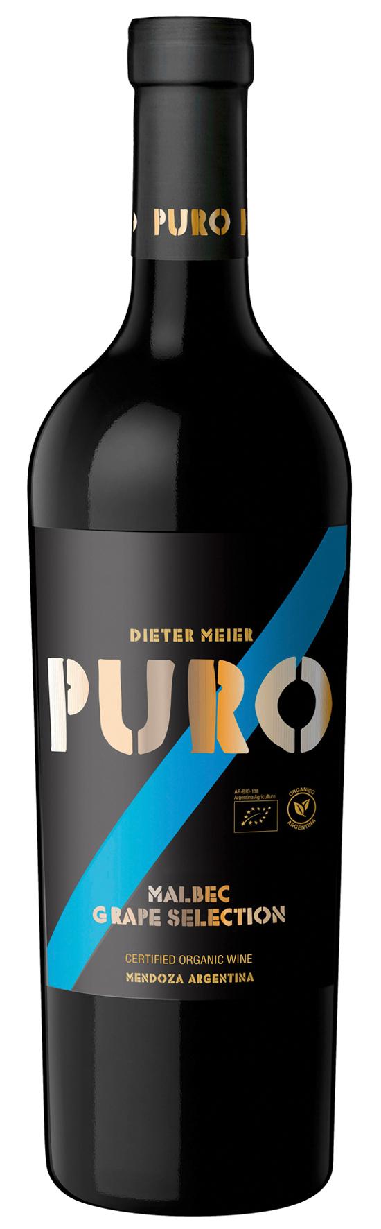 DIETER MEIER Puro Malbec Grape Selection 2014