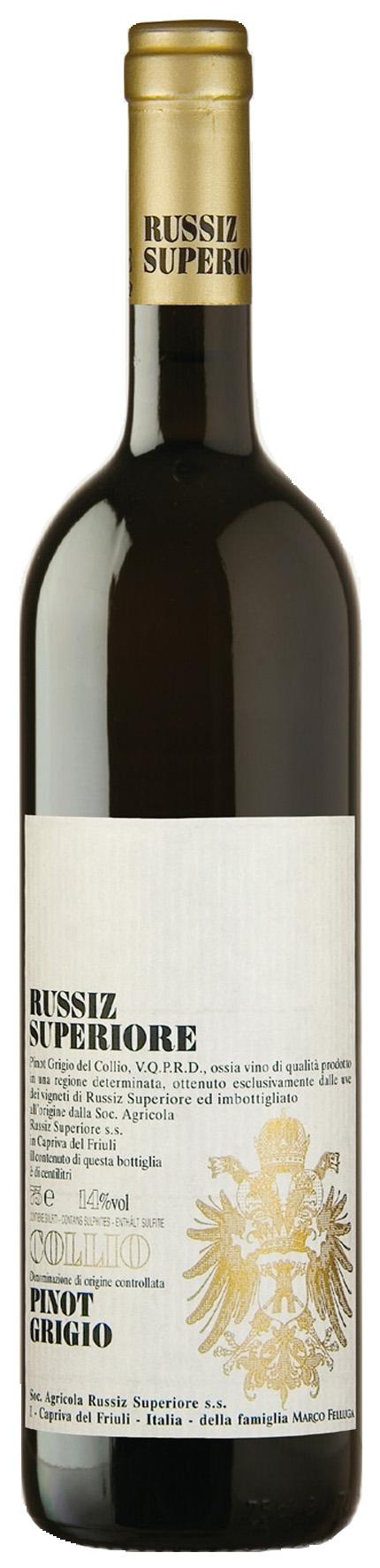 2015 Pinot Grigio Collio DOC RUSSIZ SUPERIORE