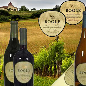 Bogle Vineyards Probierpaket 6 Flaschen à 0,75 l  Kalifornien