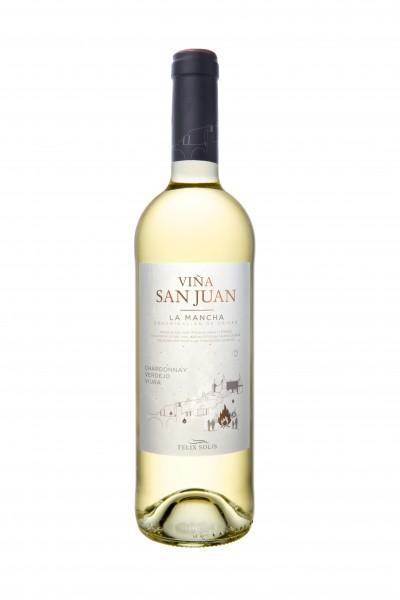 Félix Solís Viña San Juan Blanco (Chardonnay - Verdejo - Viura)