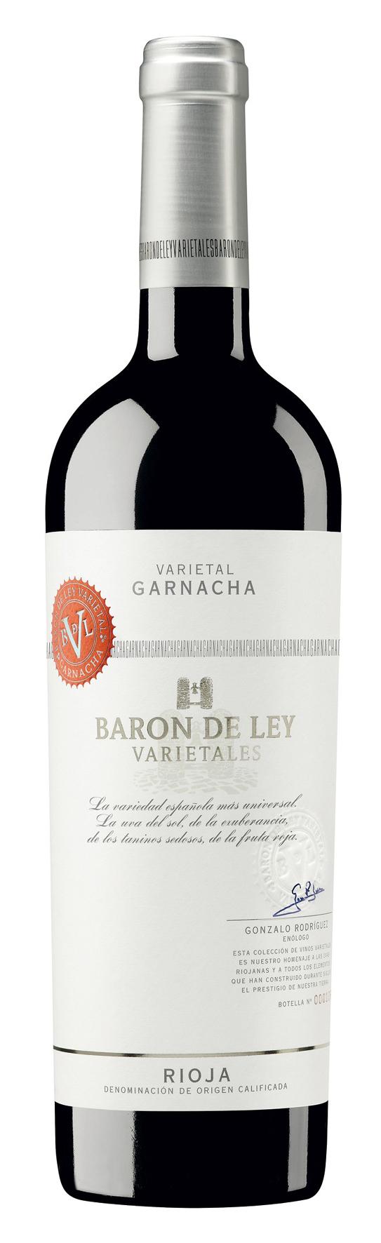 2012 Varietales Garnacha DOCa Rioja Baron De Ley