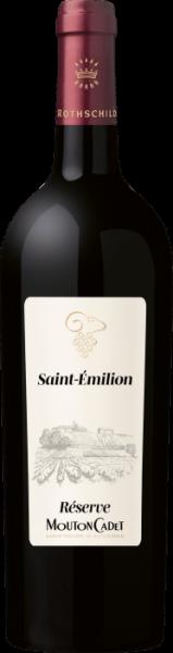 Reserve Mouton Cadet Saint-Emilion AOC Baron Philippe