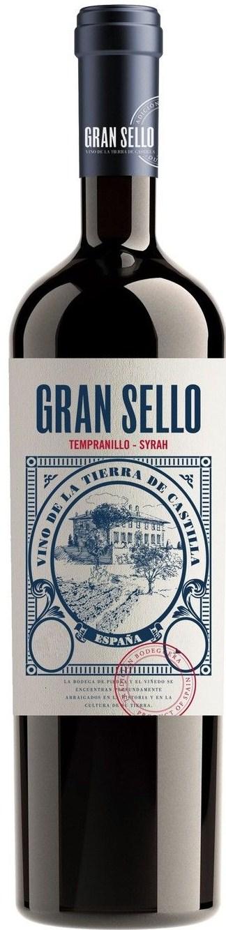 2015 Gran Sello Tempranillo Syrah Vino de la Tierra de Castilla