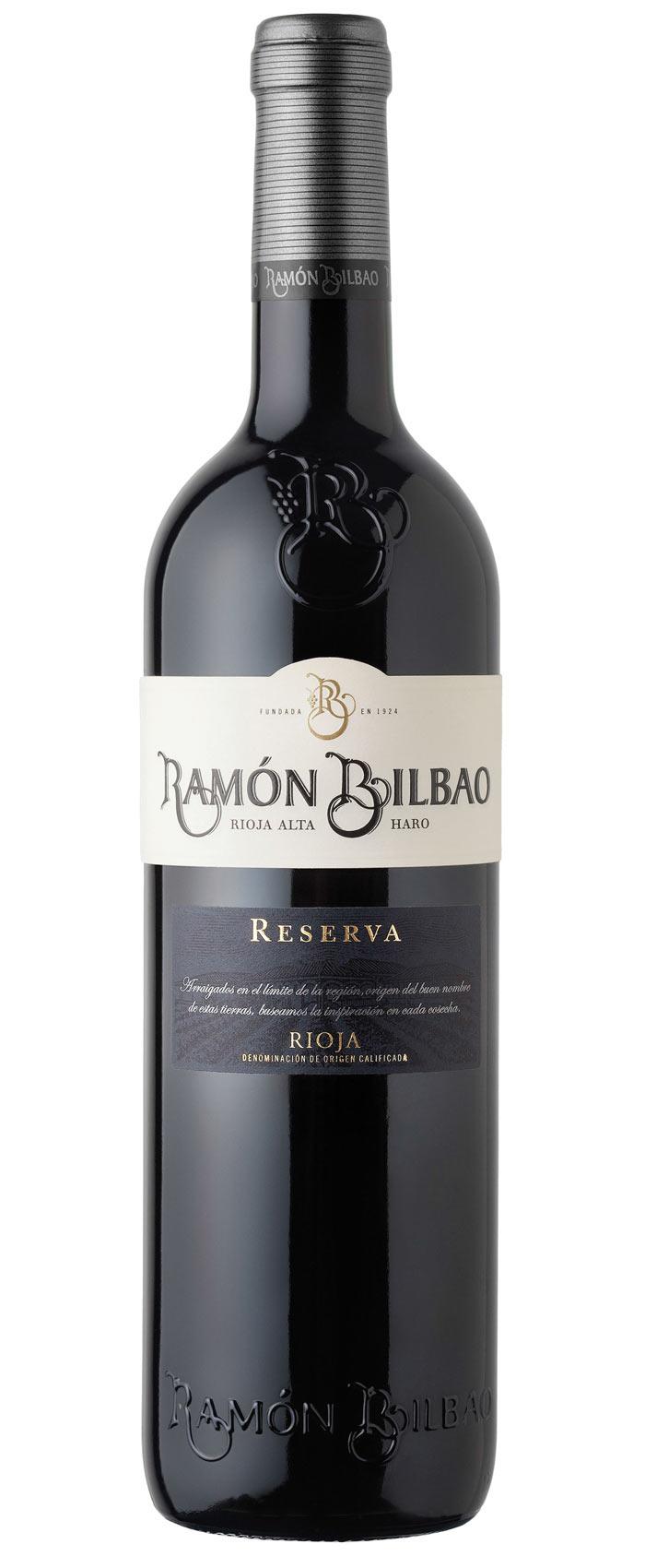 Reserva  Rioja D.O.C.a Bodegas Ramon Bilbao 2011