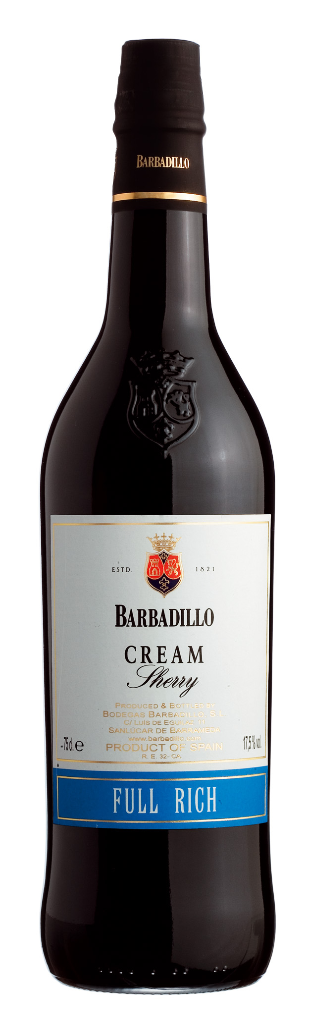 Sherry Cream 17,50% vol. Bodegas Barbadillo