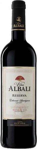 2012 Vina Albali Reserva Cabernet-Sauvignon , Valdepenas D.O. Felix Solis
