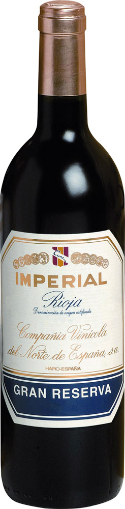 CUNE Rioja Tinto Gran Reserva - Imperial - Bodegas Cvne 2009