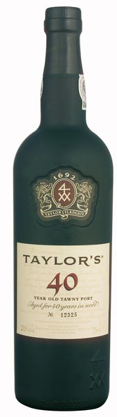 Taylor´s Port 40 Years old Tawny
