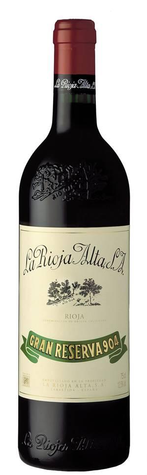 2007 La Rioja Alta Gran Reserva 904 Cosecha