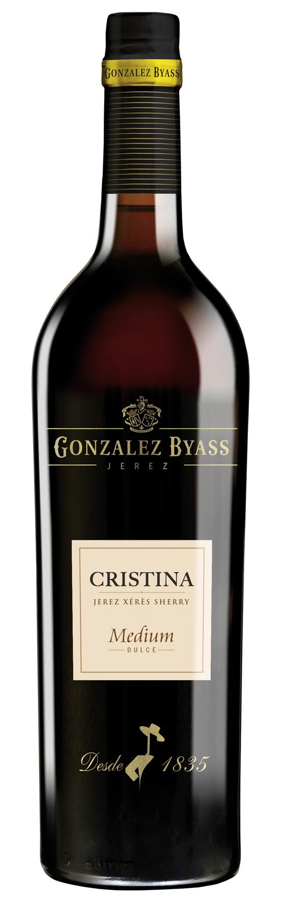 Cristina Medium Sherry GONZALEZ BYASS DO Jerez